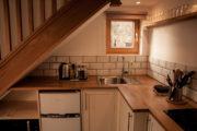 Callater cabin kitchen