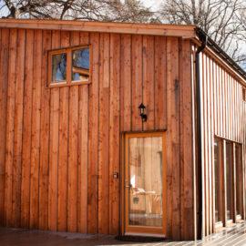 Choinnich cabin exterior