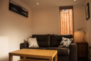 Callater Cabin Living Room