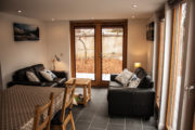 Choinnich cabin living room